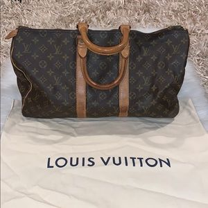 Authentic Vintage Louis Vuitton Keepall 45